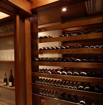 豊富なオーストリアワインのラインナップ